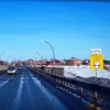 Ограничение движения на аварийном мосту в Омской области продлят еще на год