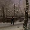 Омичи могут покататься на коньках с музыкой и светом