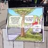 В Омске прошел митинг в защиту скверов и парков города