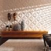 Применение 3Д гипсовых панелей в дизайне помещения