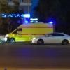 В Омске загорелась иномарка с женщиной и ее 8-летней дочерью внутри