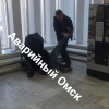 В здание омского Министерства экономики ворвался пьяный дебошир
