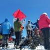 Омичи подняли портреты своих героев войны на высоту 3 403 метра