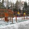 В Омске на базе школы-интерната №19 открыли детскую площадку