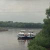 В Омске пассажирский теплоход «Москва-45» врезался в набережную из-за  нехватки топлива