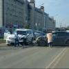 В Омске иномарка с двухлетним пассажиром выехала на встречку