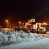 Прометать улицы и вывозить снег в Омске начнут только вечером