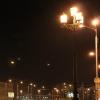 На Левобережье Омска установят светодиодные светильники за 4 миллиона рублей