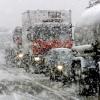 Из-за сильной метели перекрыли границу Омской области и Казахстана