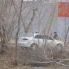 Омич обнаружил гранату в своей машине (фоторепортаж)