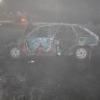 В Омской области ВАЗ врезался в «Тойоту» и загорелся