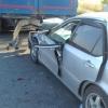 Пьяный водитель на «Хонде» влетел в попутную фуру на трассе Тюмень – Омск
