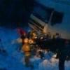 Автокатастрофа у Омска: грузовую фуру и Hyundai выбросило в кювет, трое погибших