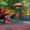 Новая детская площадка появилась в парке 300-летия Омска