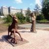 В омском сквере имени 30-летия ВЛКСМ поселился Ученый кот и Конек-горбунок
