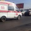 Под Омском микроавтобус сбил пешехода на обочине