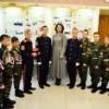 В канун Дня защитника Отечества Фадина встретилась с кадетами