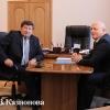 Губернатор навестил мэра   впервые   за   много   лет