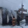 На пожаре в Омской области задохнулось 50 коров