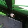 Омич чуть не провалился в дыру на ступенях автобуса