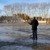 Из-за отсутствия снега в Омске не могут начать заливать катки