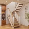 Красивая лестница в частный дом