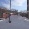 Высота снежного покрова в Омске составляет 60 сантиметров