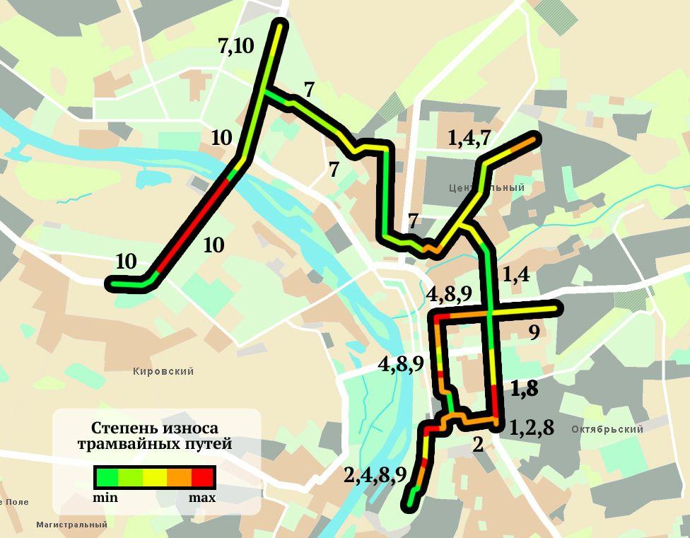 расширения трамвайной сети