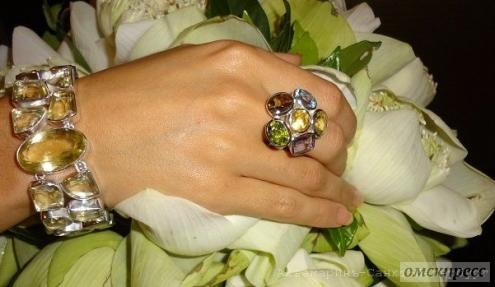 Серебряные украшения: притяжение камней и благородного металла