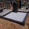 Цоколь на могилу из гранита