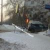 Омская автоледи влетела в скорую