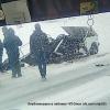 На трассе под Омском «семерку» разорвало пополам