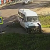 В Омске произошло ДТП с участием маршрутки на 15-й Рабочей