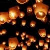Сегодня омичи запустят в небо фонарики