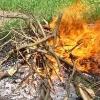 В Омской области пенсионерка попала в реанимацию из-за сжигания мусора