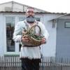Омские заключенные сделали из гипса колхозника Панкрата