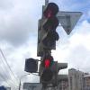 На пересечении проспекта Маркса и улицы Котовского у светофора появилась пешеходная фаза