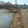 В Омской области подтопило приусадебные участки