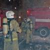 В Омске неизвестный ночью поджег торговый павильон