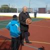 Губернатор открыл новую спортивную площадку в Омской области