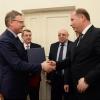Бурков встретился с послом Словакии