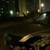 В Омске на Мельничной «Мазда» попала в ДТП