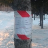 В Советском парке Омска опасно скатываться с необустроенных спусков