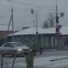Пьяная компания на ВАЗе влетела в иномарку в Омске