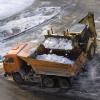 С омских дорог вывезено 11 тысяч кубометров снега