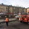 Из-за некачественных материалов на отремонтированных дорогах Омска появляются выбоины