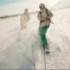 Полиция задержала омича, который на буксире катал сноубордиста