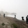 Берег Иртыша отчистили от остатков пляжного сезона