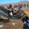 Под Омском в лобовом ДТП погибли 4 человека