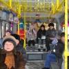 В новогоднюю ночь в Омске организуют специальные автобусные маршруты